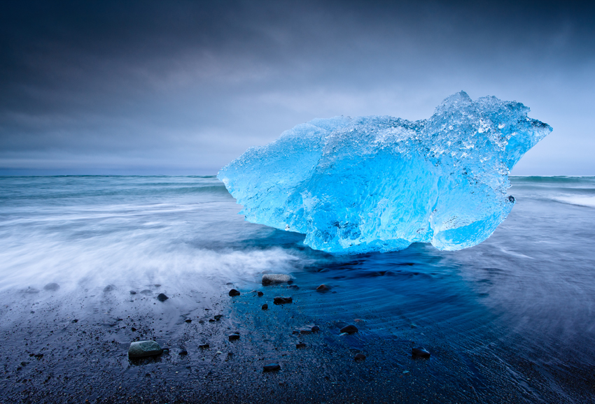 Abandoned Blue-Berg